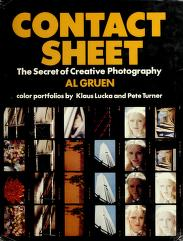 Cover of: Contact sheet by Al Gruen