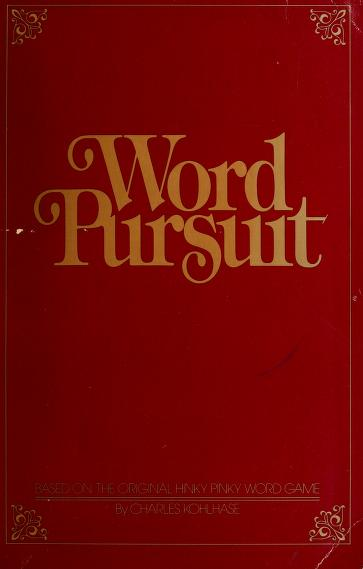 Word pursuit by Charles Kohlhase